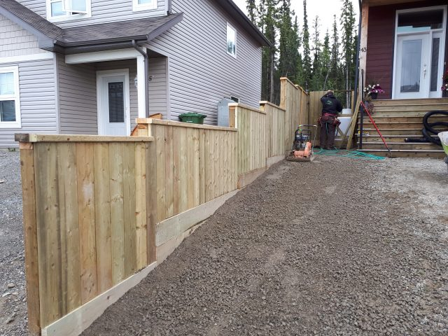 Returning Client Extends Fence