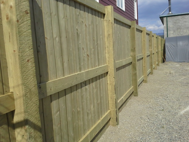 Commercial Fence To Secure Compound