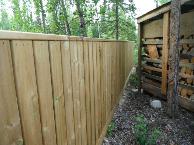Fence Utilized For Out-Of-Town Property