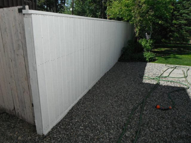 Old Fence Gets Fresh New Look