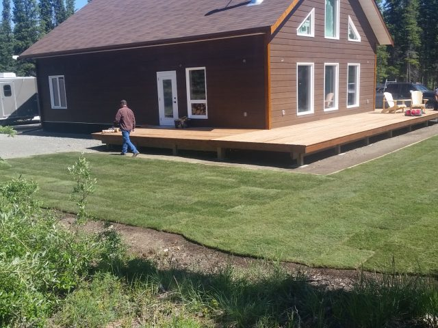 Out Of Town Property Gets In-Town Lawn