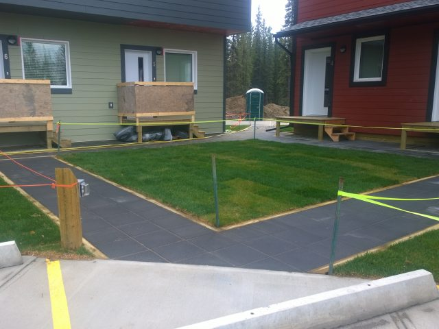 Multiple Townhouses With Complex Landscaping Needs